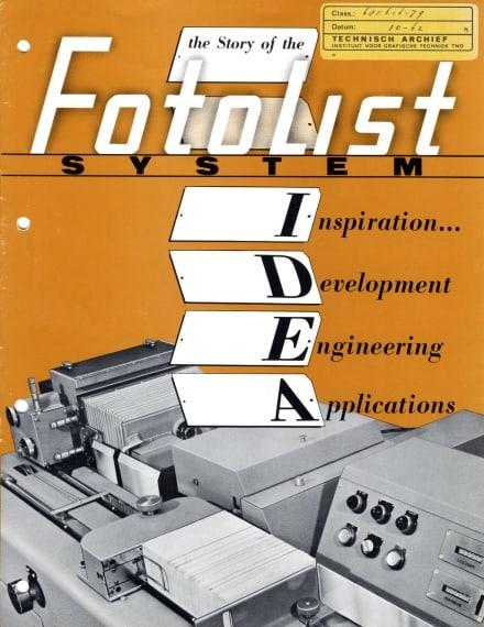 Fotolist system