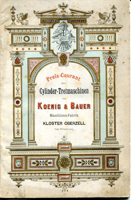 Koenig and Bauer, 1885